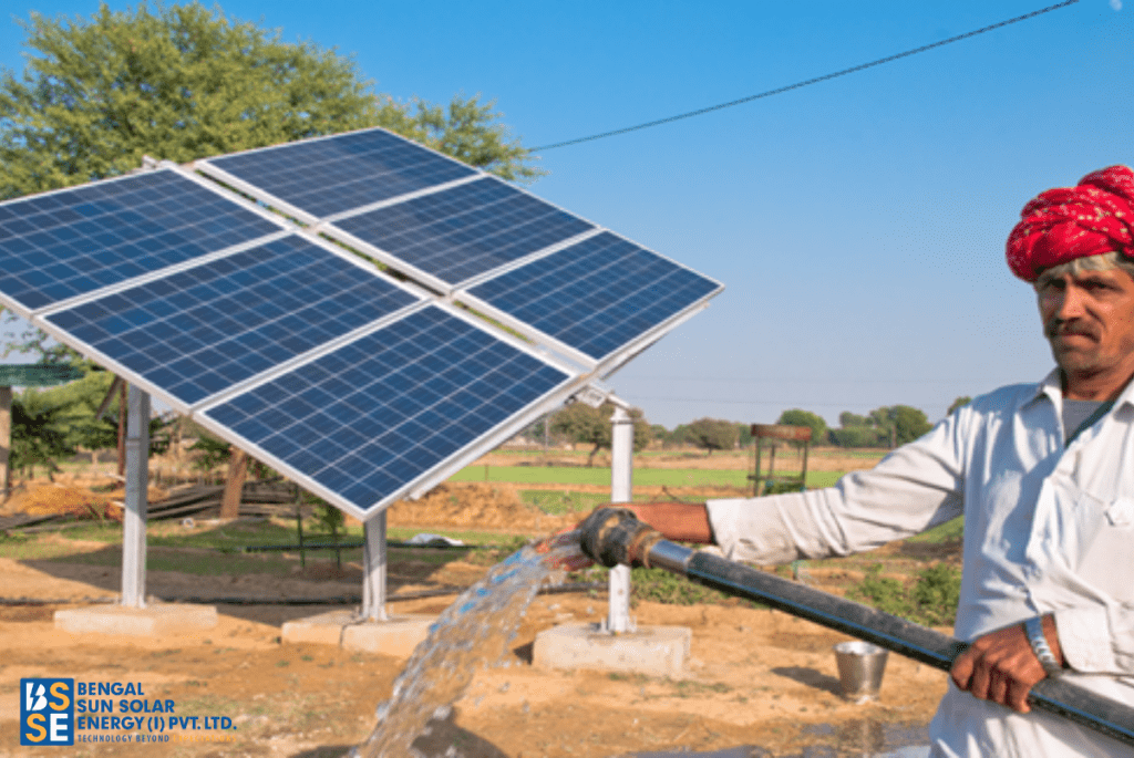 How can Indian farmers reap the benefit of using solar energy?