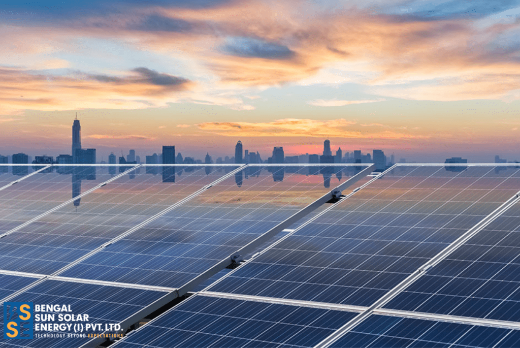 What is a grid connected solar system?